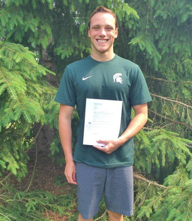 Michigan State Nabs Ohio Backstroker Jack Saczawa for 2016-17
