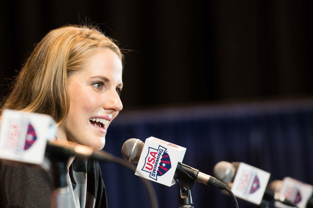 Missy Franklin To Make Broadcast Debut At FINA Champions Swim Series