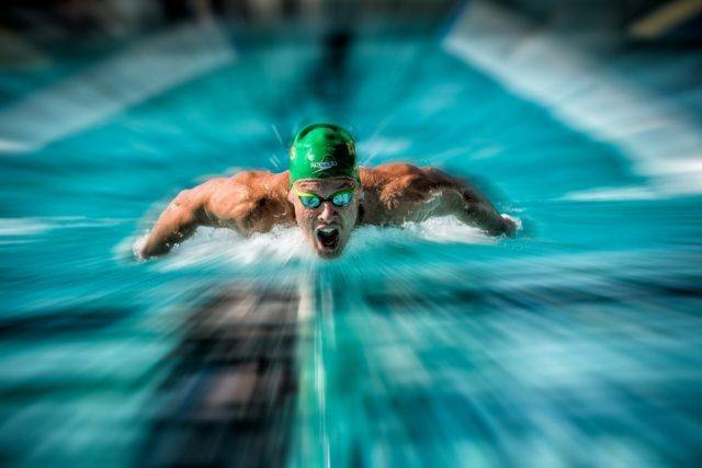 Mitch Larkin got more than just backstroke in the quiver - Larkin swam the prelims of the 200IM (photo: Mike Lewis)