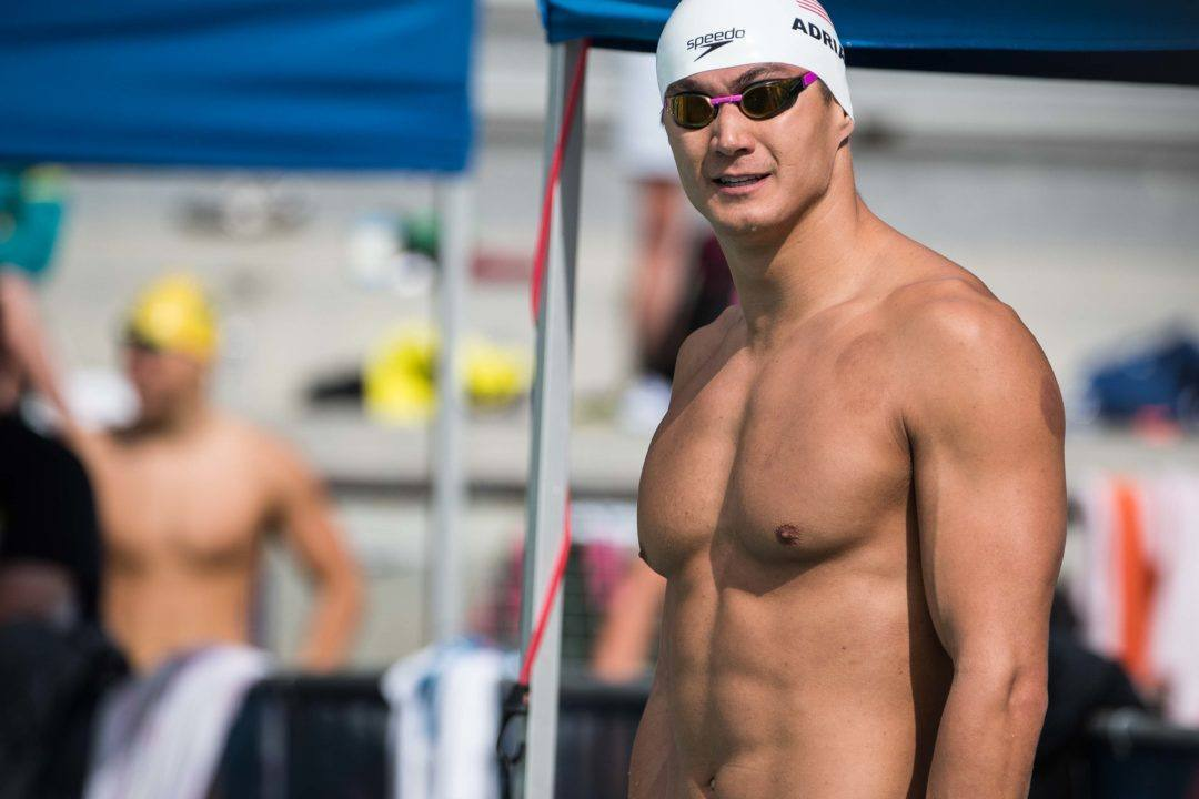 Adrian Posts World's 2nd Fastest 100 Freestyle At Mesa Pro Swim Series