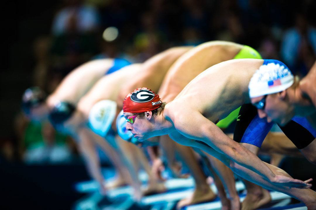 Georgia's Clark And Raab Take SEC Swimmer Of The Week Award