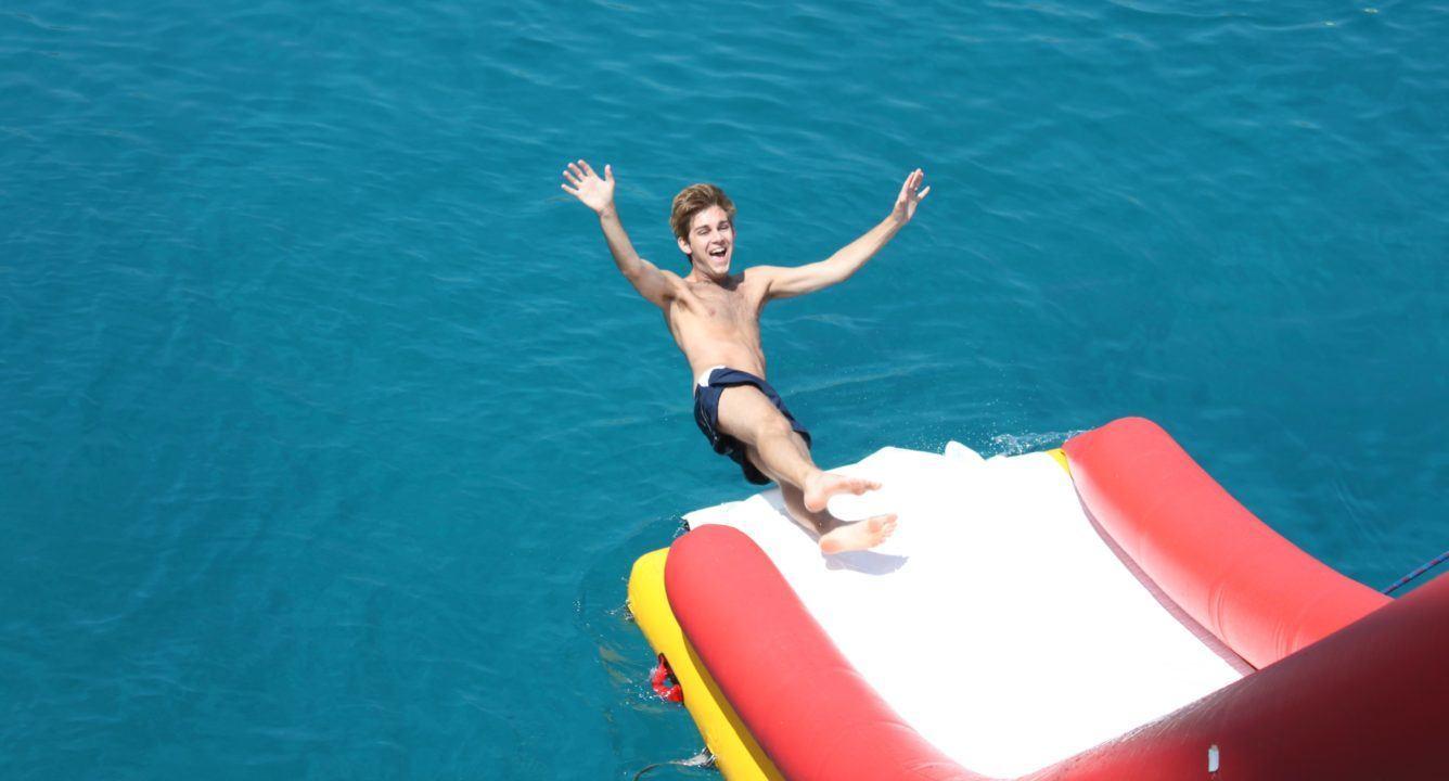 Swimming is a Lifelong Sport for Actor Rik Barnett
