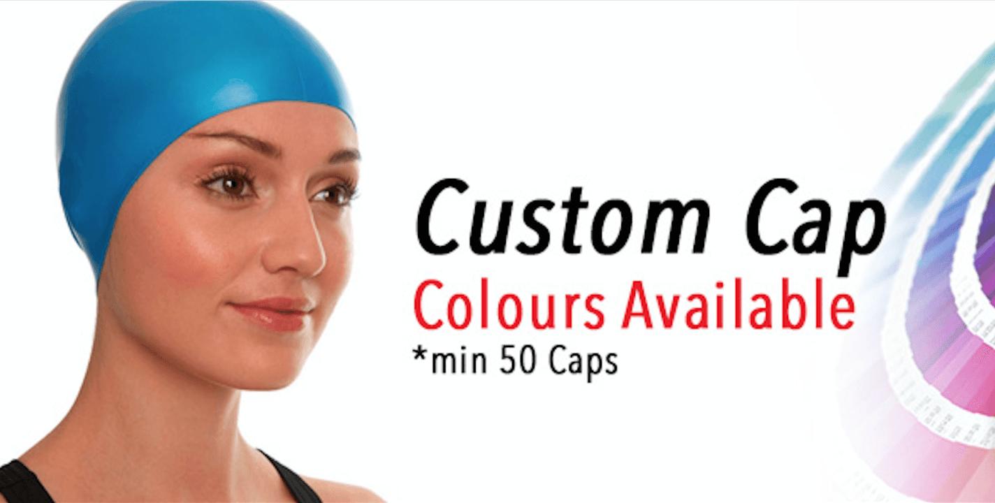 SwimCapz.com Has All of the Custom Cap Colours You Need