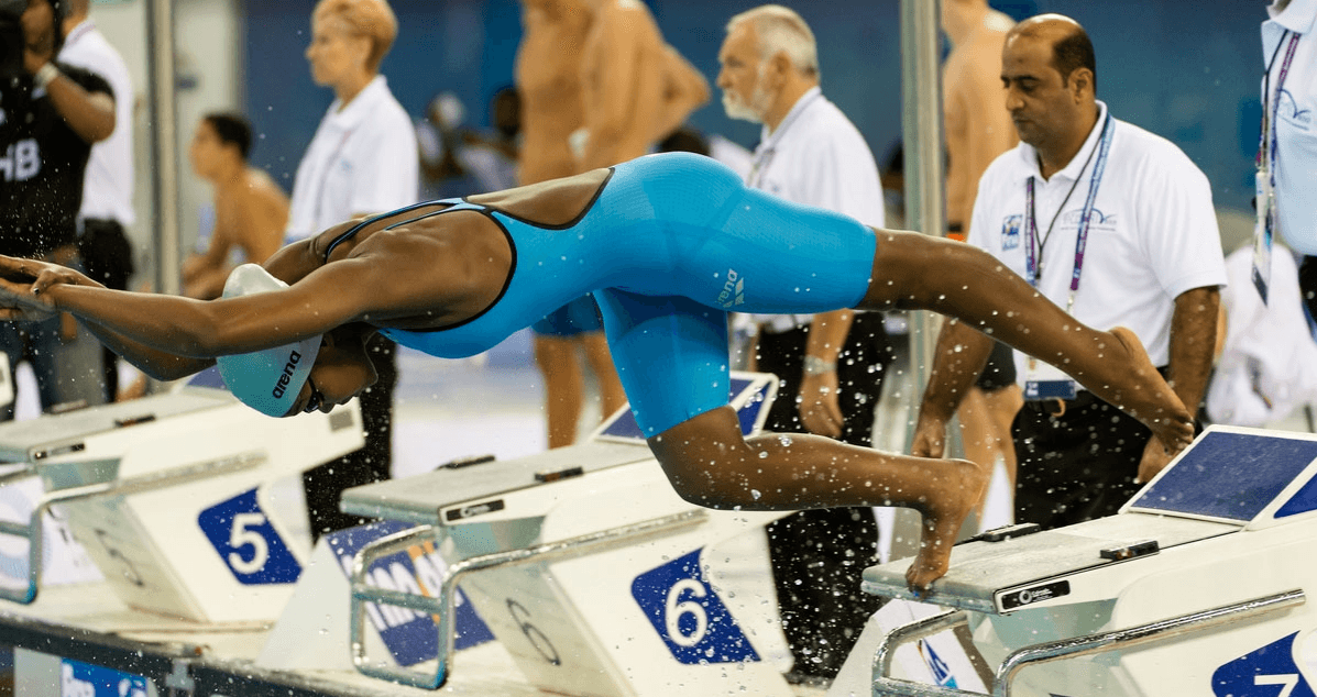 FIU Swimmer Receives Botswana Swimming Award