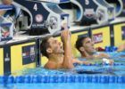 WATCH: Tom Shields Swim Historic 43.8 100 Yard Butterfly