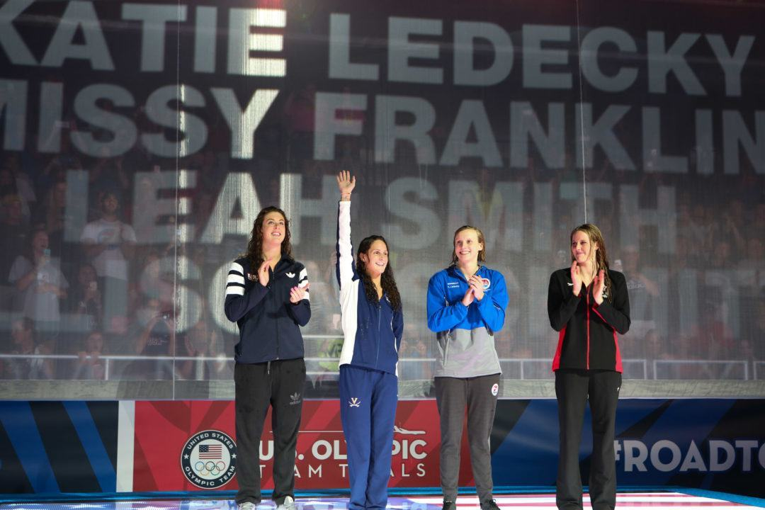 2016 Rio Olympics Preview: American Women on WR Hunt in 800 Free Relay