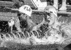 Sun Yang in the finals of the 200 free Santa Clara Pro Swim Series (photo: Mike Lewis)