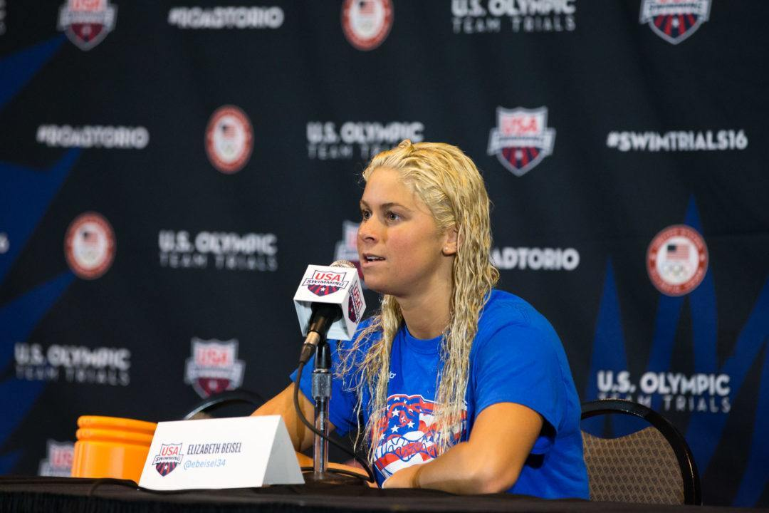 Elizabeth Beisel Named to USA Swimming Foundation Board of Directors