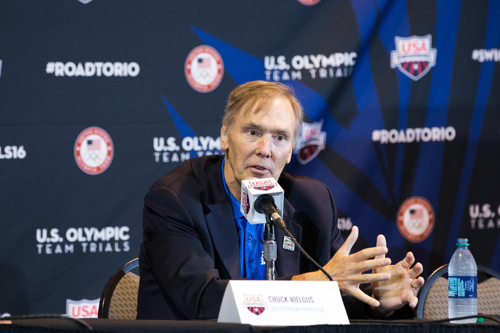 USA Swimming CEO Chuck Wielgus Dies at 67