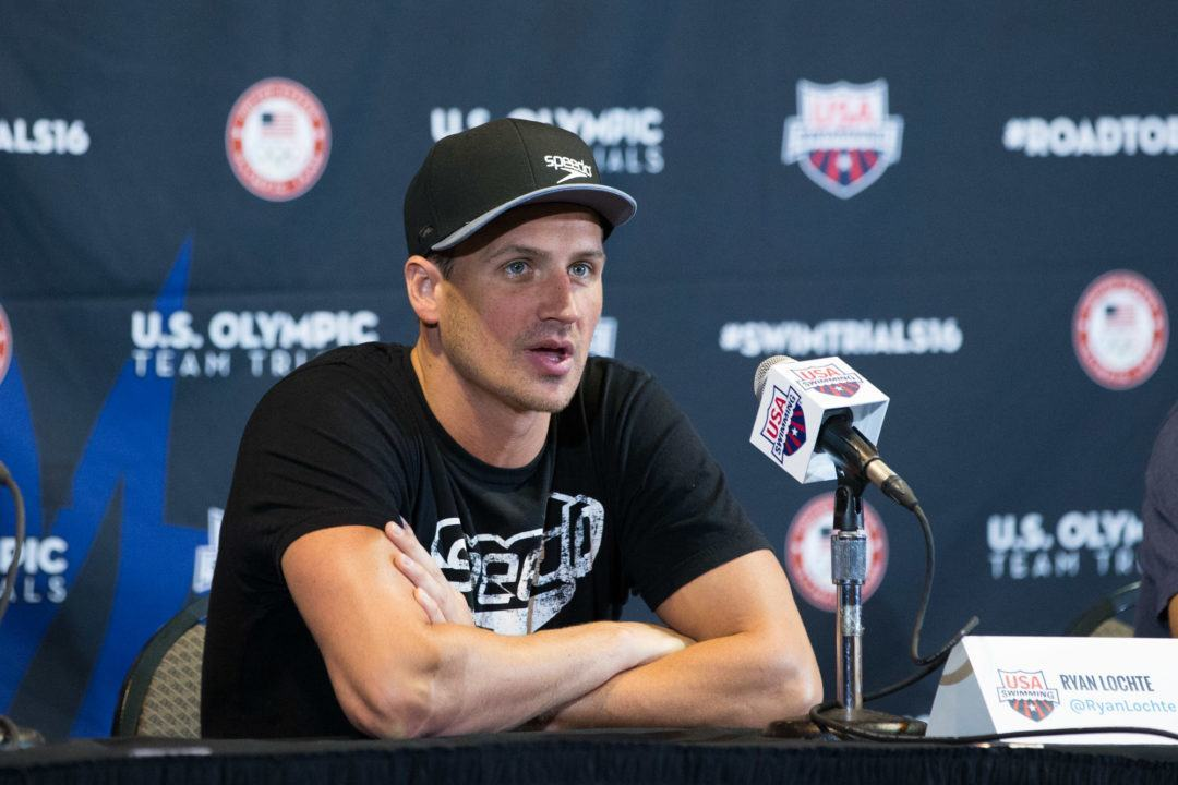 Lochte, USA Swimmers Didn't Report Robbery to Rio Police