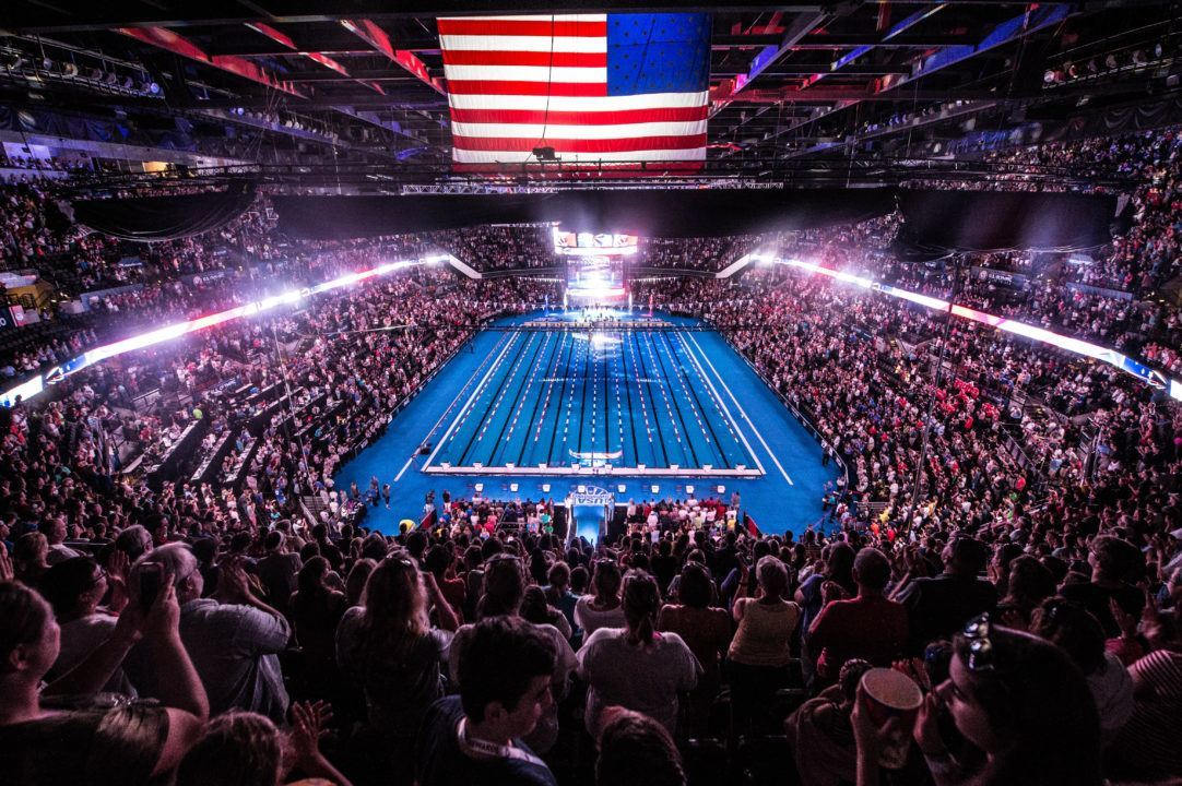 Single Day Tickets for 2020 US Olympic Swimming Trials Go on Sale