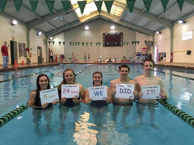 "YWCA Flying Fish ""Relay for Oz"" Honors Late Coach, Raises $25,000"