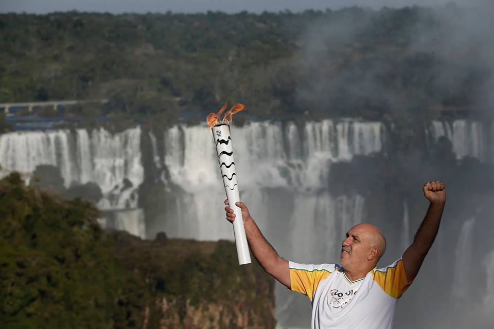 Rio Torch Relay Day 60: Foz Do Iguaçu
