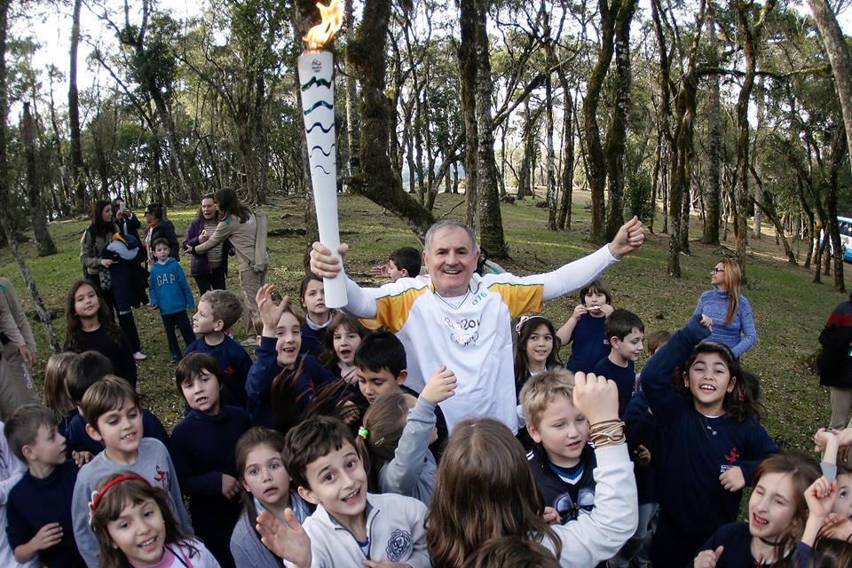 Rio Torch Relay Day 67: Seven Cities In Eastern Rio Grande do Sul