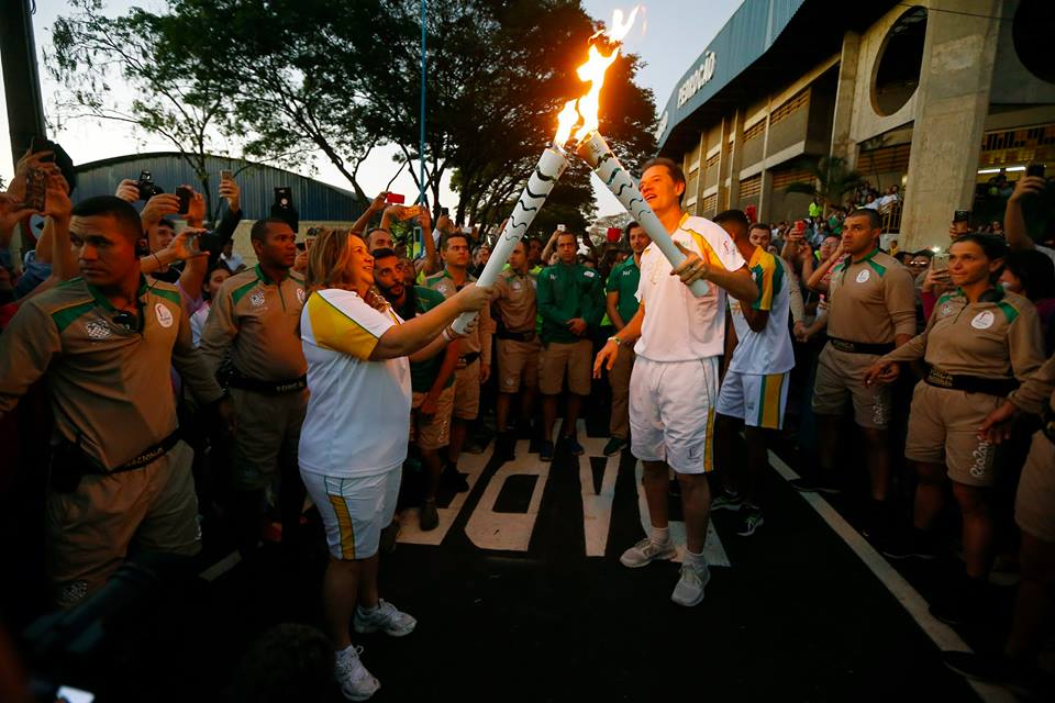 Rio Torch Relay Day 78: Torch Continues Through São Paulo
