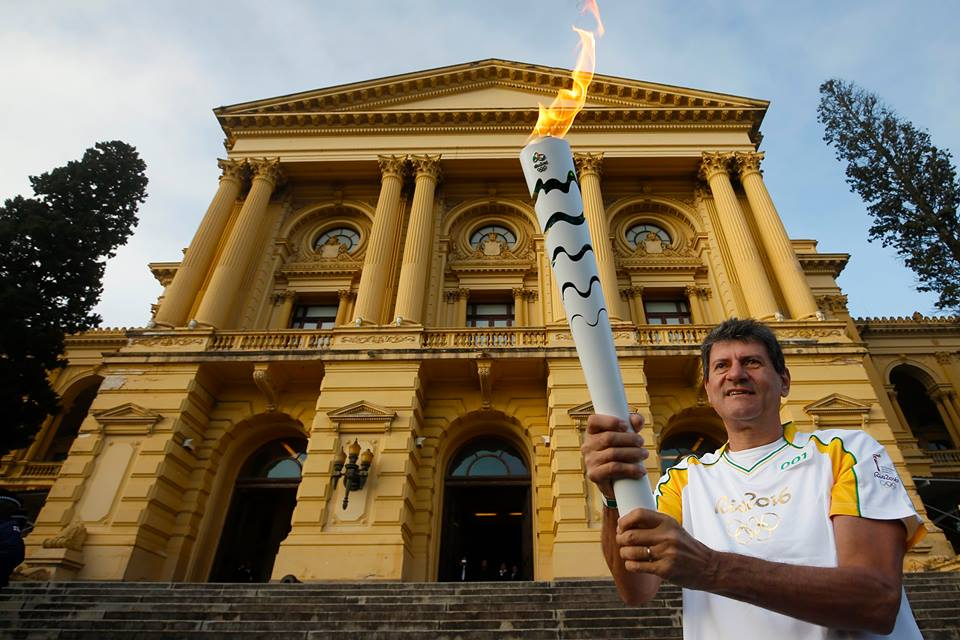 Rio Torch Relay Day 83: New & Old Olympians Carry Torch In São Paulo
