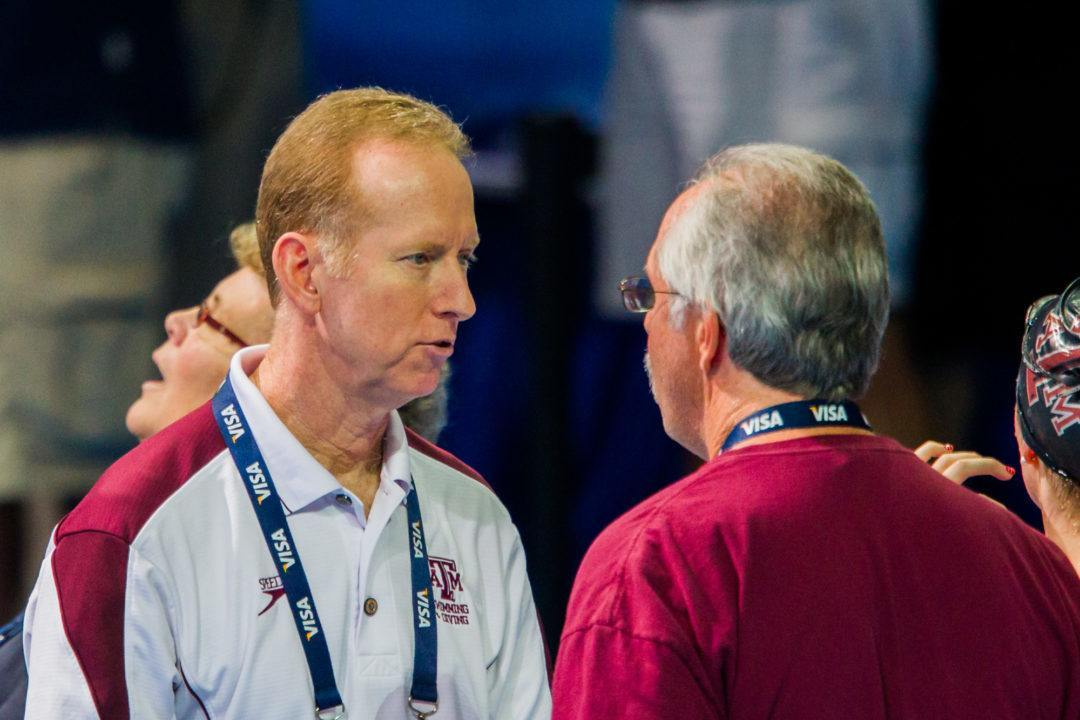 Competitor Coach of the Month: Steve Bultman, Texas A&M