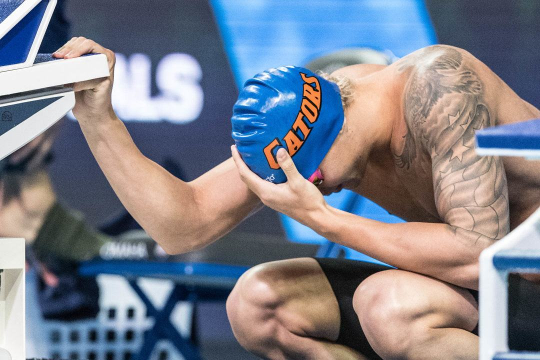 Dressel, Gibson Take 3 Wins Apiece As Florida, Texas A&M Split Dual