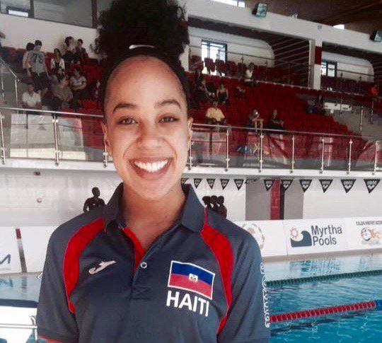 Meet Naomi Grand'Pierre, Haiti's First Woman to Swim at the Olympics