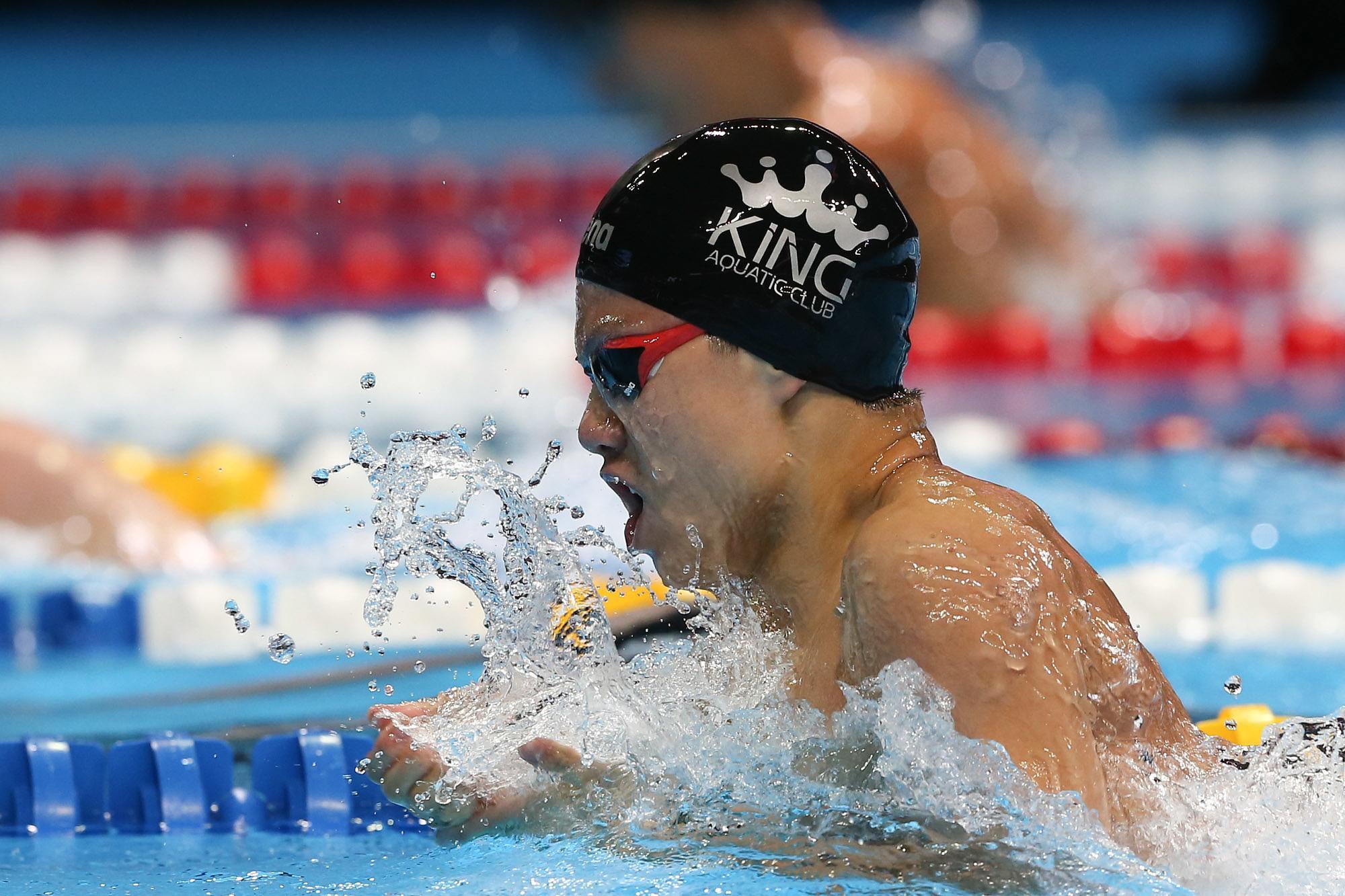 Резултат с изображение за ethan dang swimming