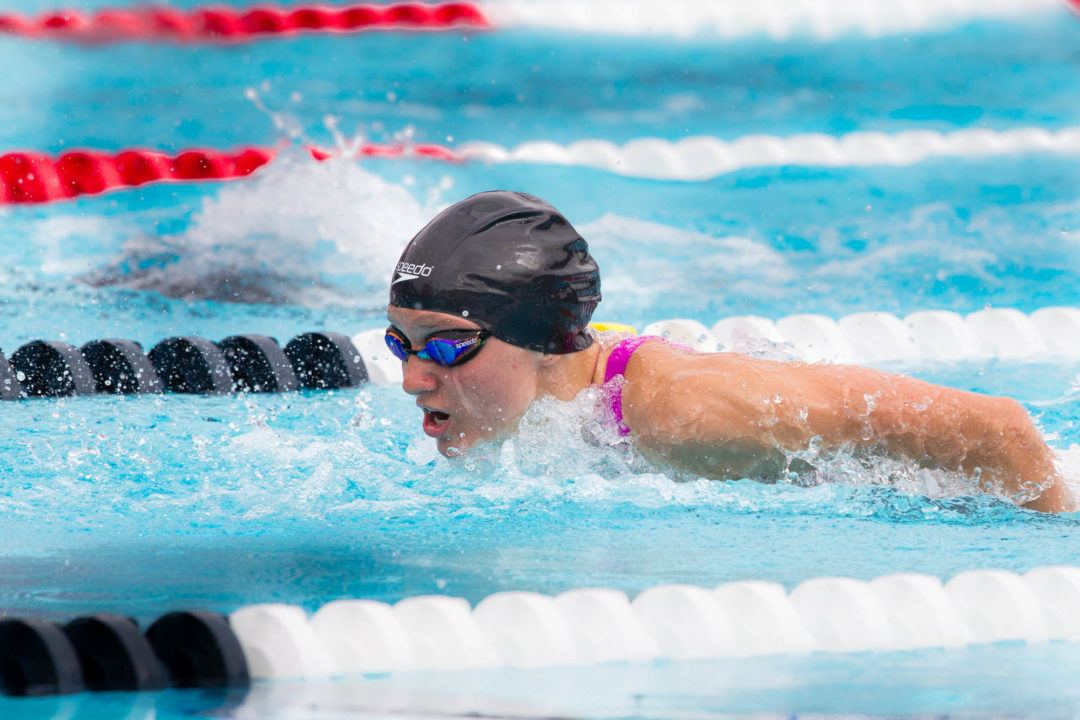 Katie Drabot Wins Four Times at NCSA Summer Champs Day 1 in Indy