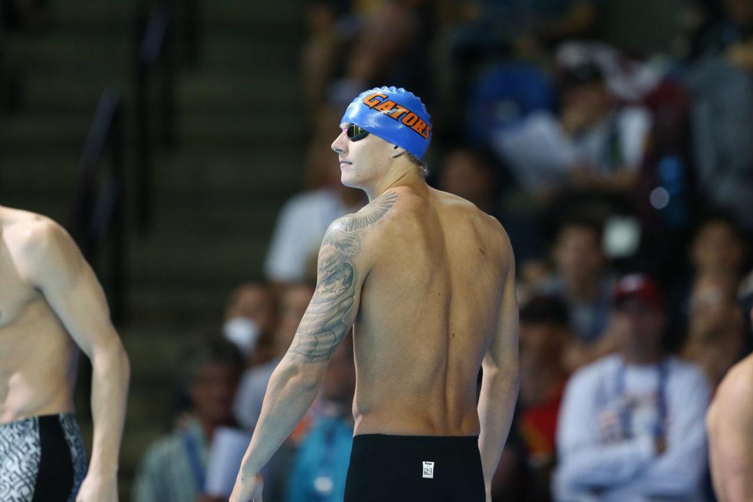 Florida's Caeleb Dressel Earns SEC Male Swimmer Of The Week