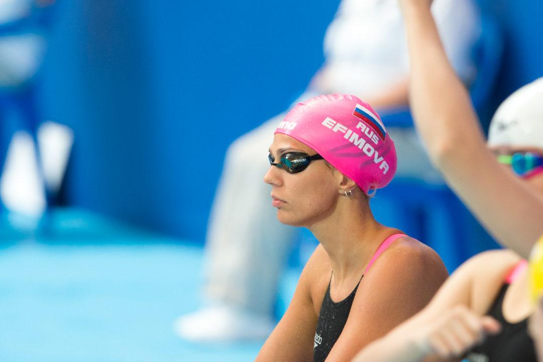 FINA Drops Meldonium Charges Against Efimova, Cleared for Rio