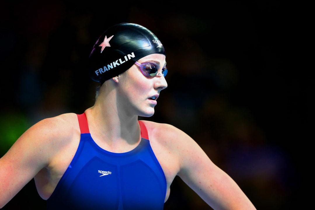 Missy Franklin Won't Swim US Nationals After Double Shoulder Surgery