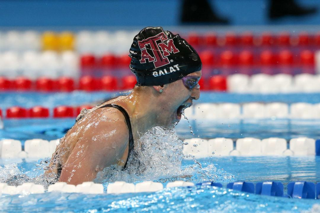 Bethany Galat Swims Another Lifetime Best at U.S. Open