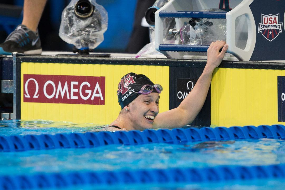 "Bethany Galat At Energy For Swim: ""I Did Not Expect To Win"""