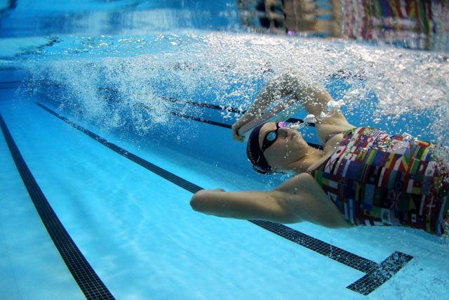 Graciele Herrmann. Treino da selecao brasileira de natacao no Centro Paraolimpico Brasileiro. 25 de Julho de 2016, Sao Paulo, SP, Brasil. Foto: Satiro Sodré/SSPress/CBDA