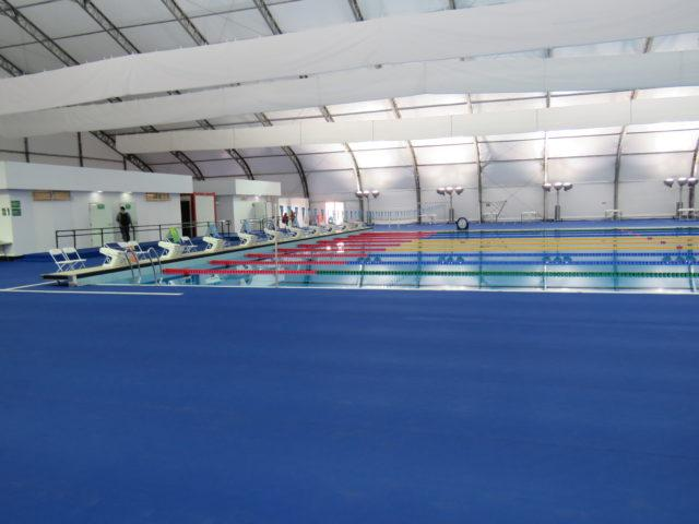 Rio 2016 Olympic warm up pool via D'artagnan Dias