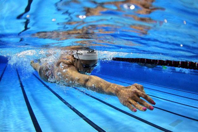 Joanna Maranhao. Treino da selecao brasileira de natacao no Centro Paraolimpico Brasileiro. 25 de Julho de 2016, Sao Paulo, SP, Brasil. Foto: Satiro Sodré/SSPress/CBDA