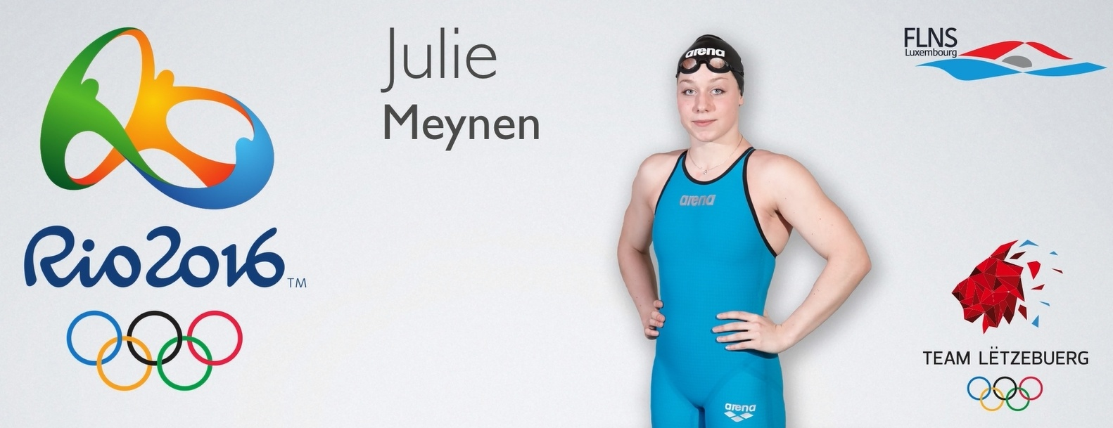 Luxembourg's Julie Meynen received her invitation to Rio