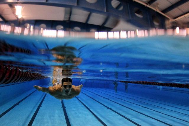 Kaio Marcio. Treino da selecao brasileira de natacao no Centro Paraolimpico Brasileiro. 25 de Julho de 2016, Sao Paulo, SP, Brasil. Foto: Satiro Sodré/SSPress/CBDA
