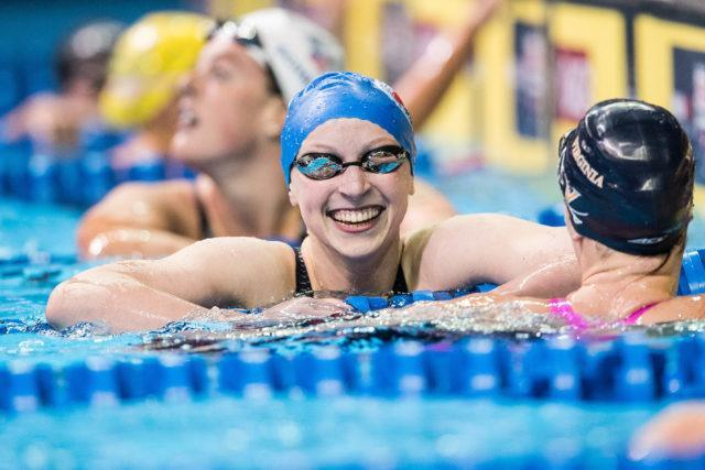 Katie Ledecky (photo: Mike Lewis)