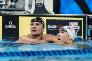 SwimSwam Pulse: 53% Pick Lochte Over Phelps In Hypothetical 100 IM Skins