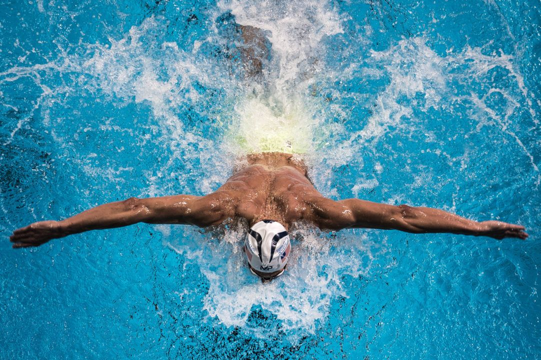 Phelps Ties 2000 Year Old Olympic Record