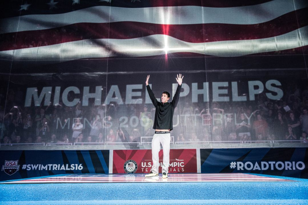 Michael Phelps Possibly On Team USA Flag Bearer Short List For Rio