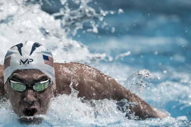 Michael Phelps (photo: Mike Lewis)