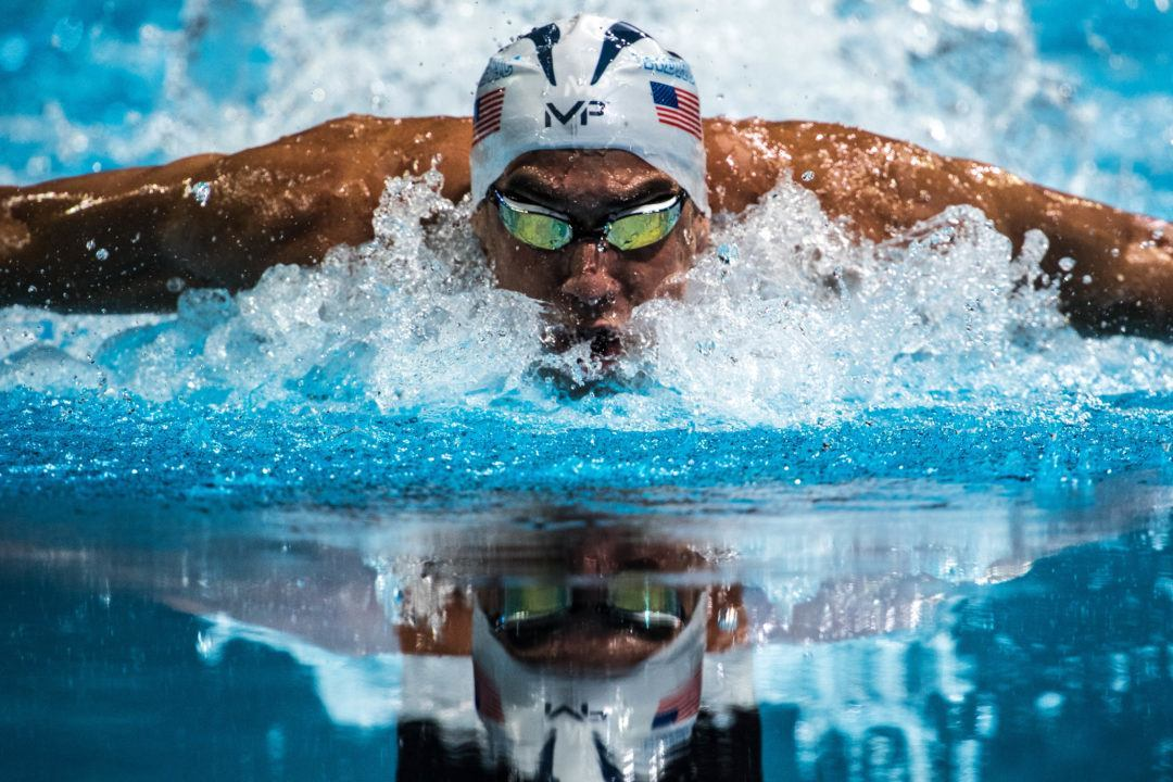 Phelps Becomes the First to Reach Five Consecutive Finals