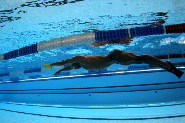 Nicolas Oliveira. Treino da selecao brasileira de natacao no Centro Paraolimpico Brasileiro. 25 de Julho de 2016, Sao Paulo, SP, Brasil. Foto: Satiro Sodré/SSPress/CBDA