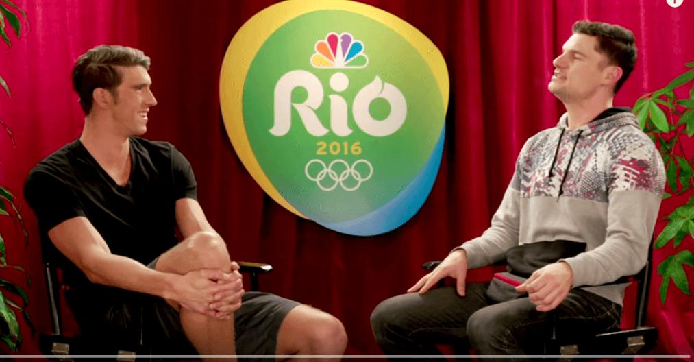 Phelps, Ledecky, Jaeger Lend Voices To Hot Swim Jam (Video)