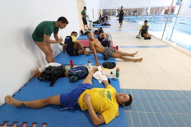 Treino da selecao brasileira de natacao no Centro Paraolimpico Brasileiro. 25 de Julho de 2016, Sao Paulo, SP, Brasil. Foto: Satiro Sodré/SSPress/CBDA