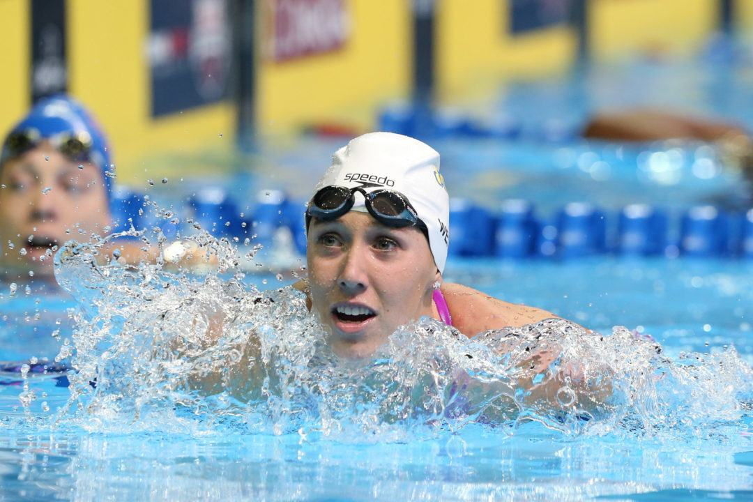 Weitzeil Posts 21.5 Anchor Split on 200 Free Relay as Cal Defeats UCLA