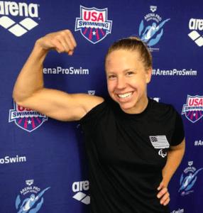 Watch Michelle Konkoly Set S9 50 Freestyle World Record