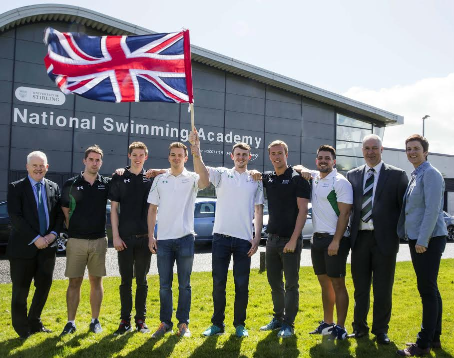 Stirling Olympians depart for Rio