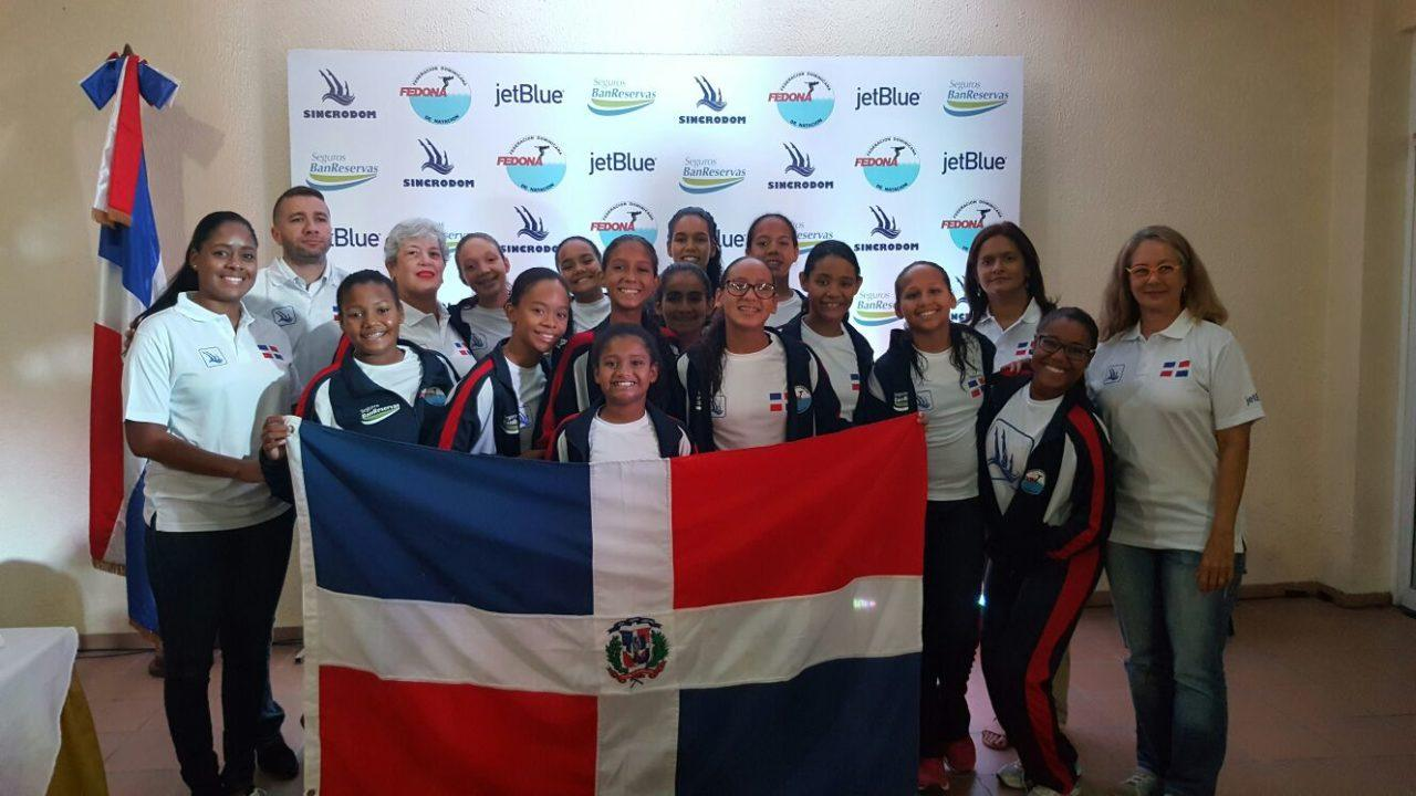 Dominican Republic Synchro Junior National Team Presentation