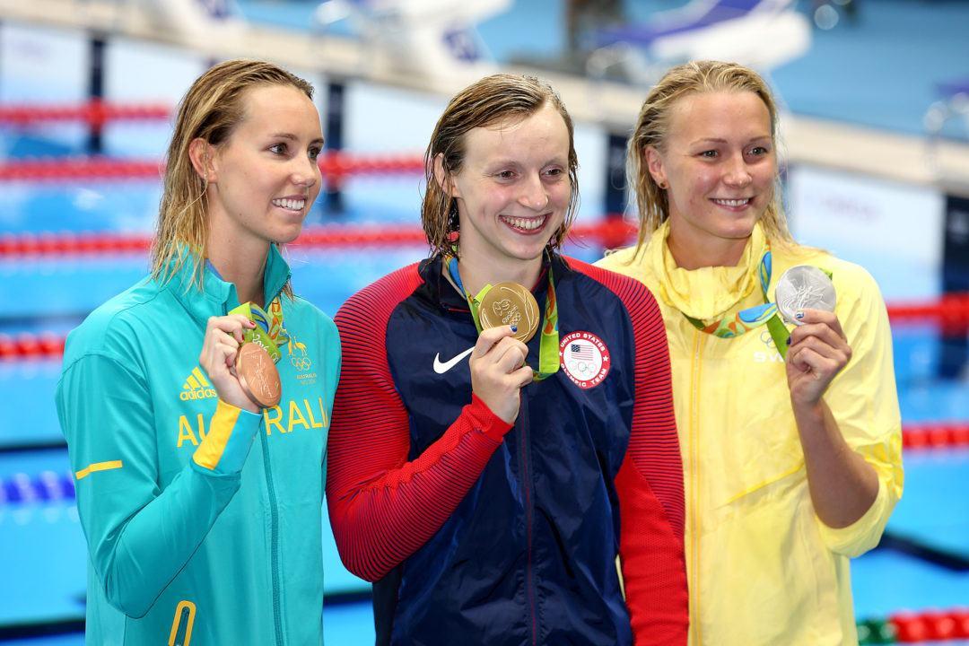 Rio Battle with Ledecky was Sjöström's Last 200 Free at a Major Champs