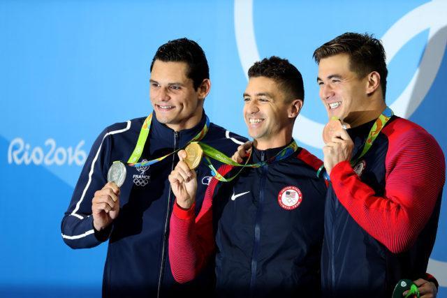 Anthony Ervin - 2016 Rio Olympics/photo credit Simone Castrovillari